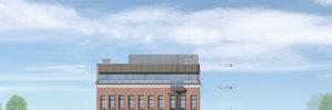 South Aud Block - FFAE Architects - North Elevation - 02-14-17