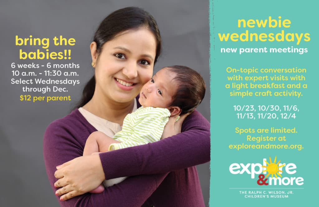"""Newbie Wednesdays"" New Parent Mornings"