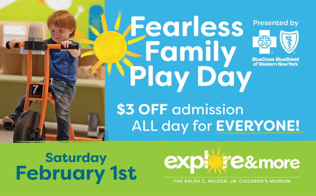 Fearless Family Play Day presented by BlueCross BlueShield of WNY