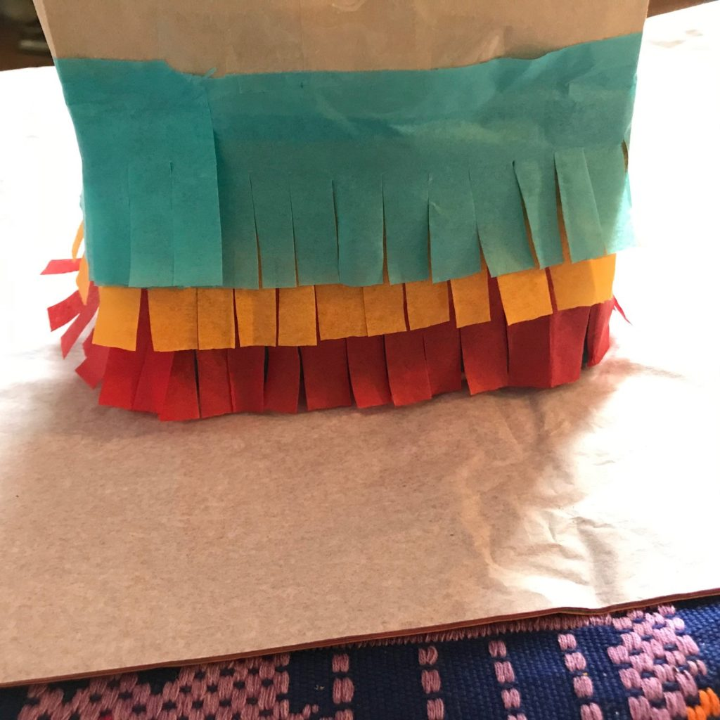 Sanity Savers: Paper Bag Piñatas