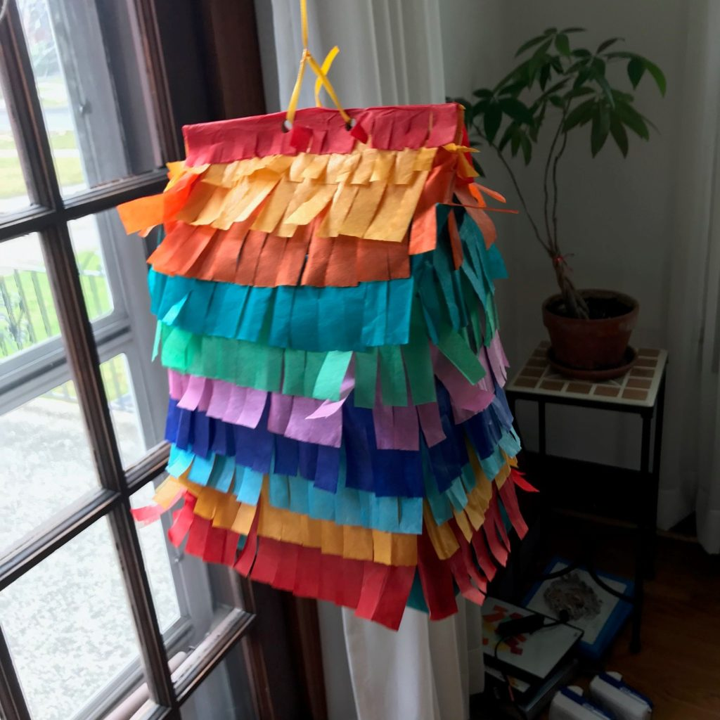 Sanity Savers: Paper Bag Pinatas