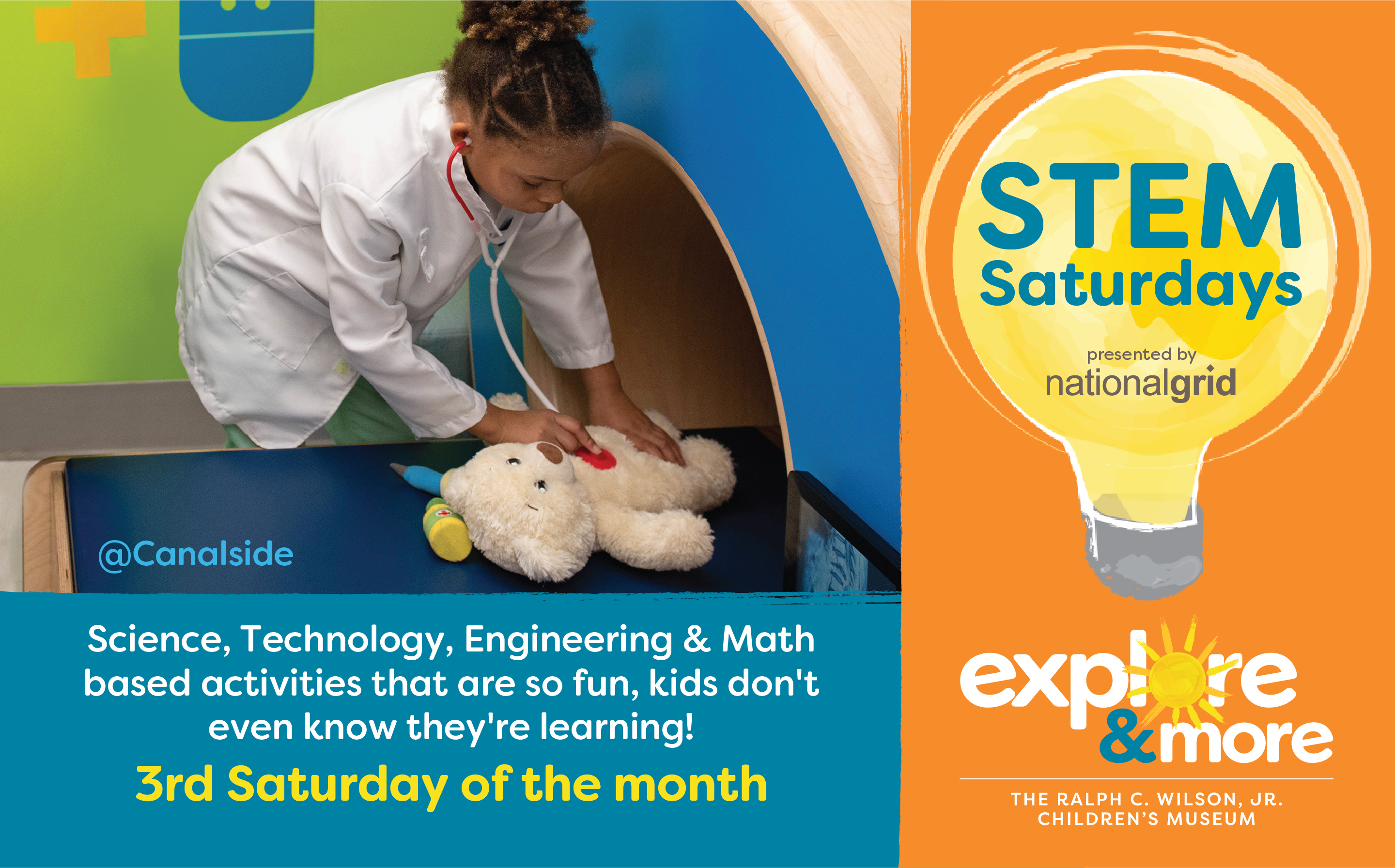 STEM Saturday Explore & More Canalside
