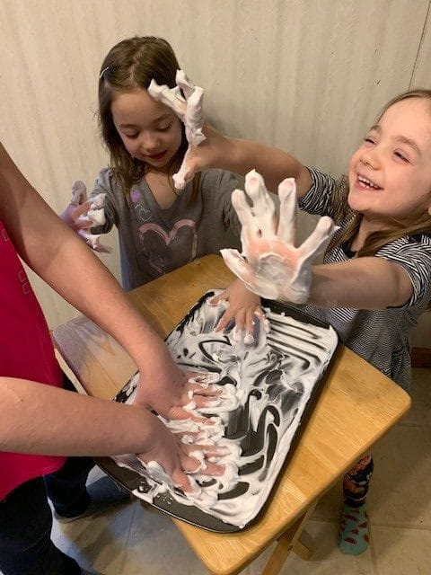 Sanity Savers: Shaving Cream Sight Words