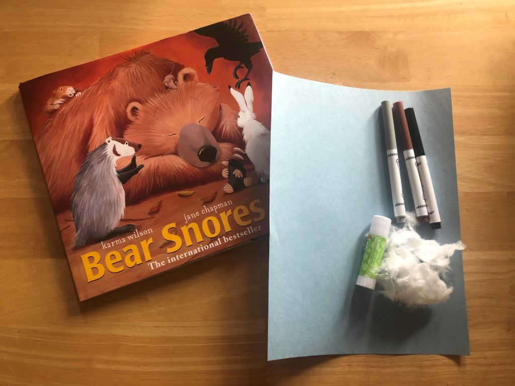Sanity Savers: Bear Snores On - Read-a-loud & Art Activity