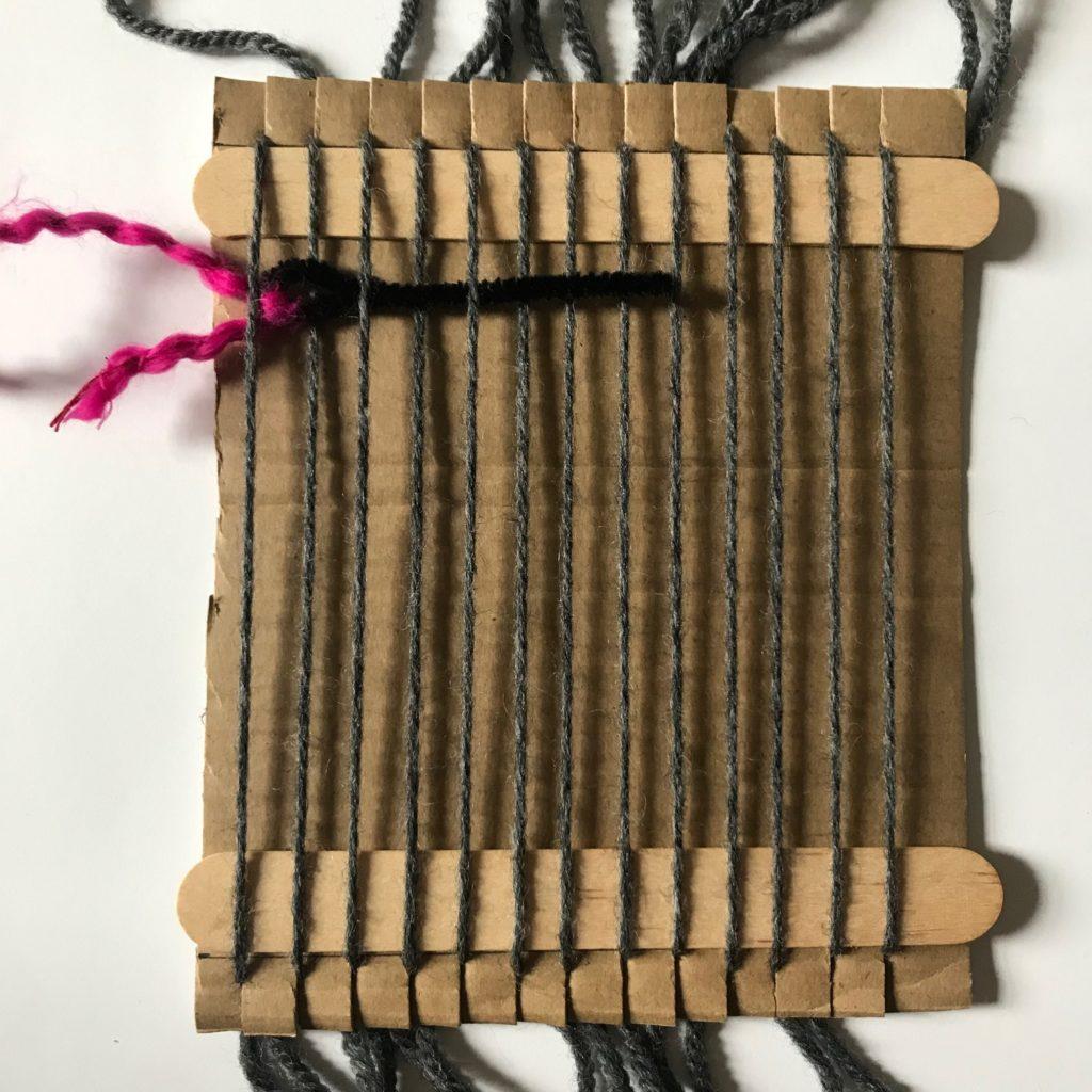 Sanity Savers: Cardboard Weaving Looms
