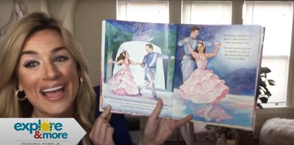 Storytime: Lauren Hall reads The Dancing Swan