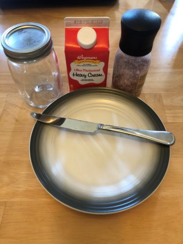 Sanity Saver: Shake Your Own Butter