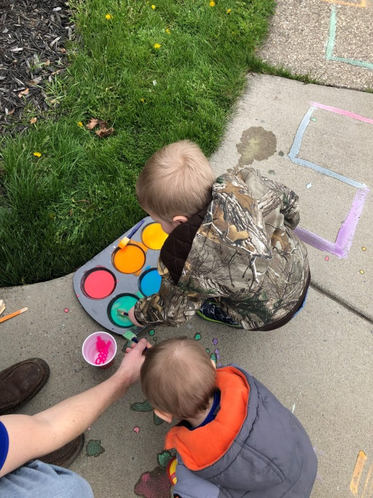 Sanity Savers: Sidewalk Chalk Paint