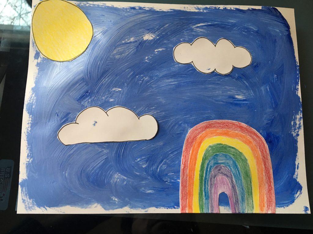 Sanity Savers: Sky Painting