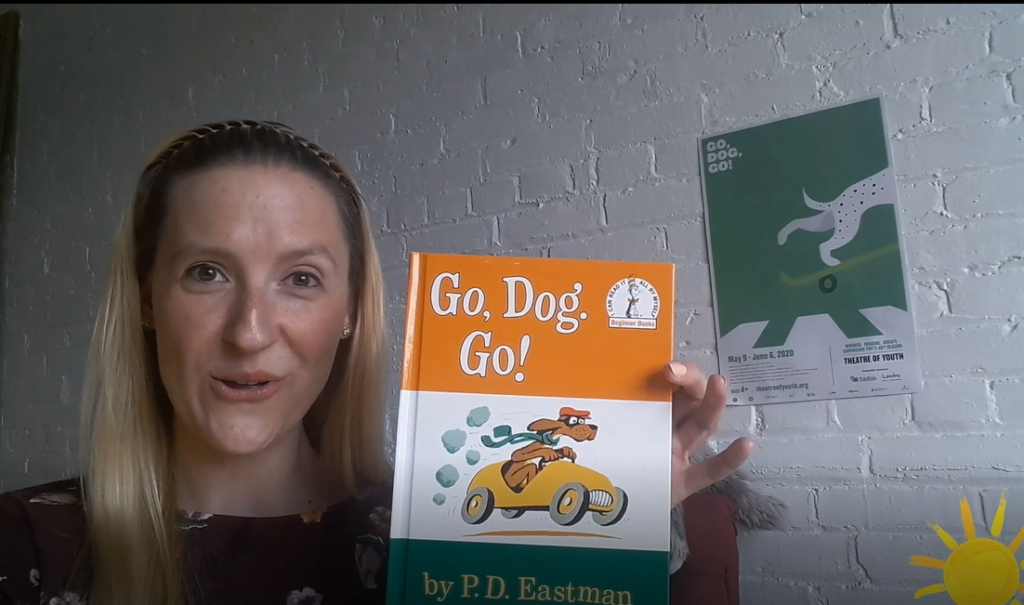 Storytime: Tracy Snyder reads Go Dog Go