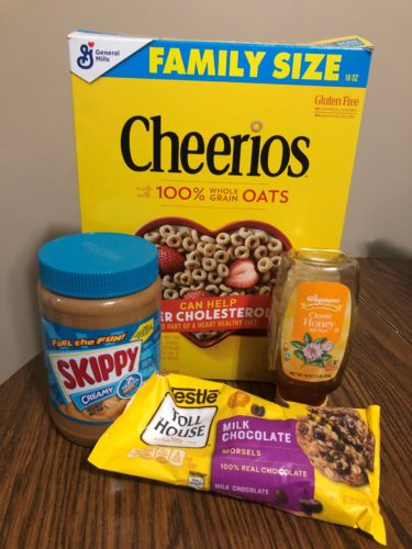 Sanity Savers: Cheerio Bars