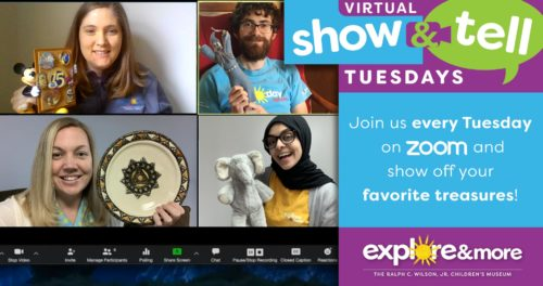 Virtual Show & Tell @ Zoom