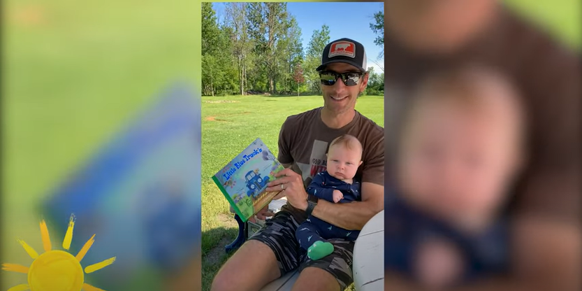 Storytime Find a Truck Edition: Clay Moden Reads Little Blue Truck's Springtime