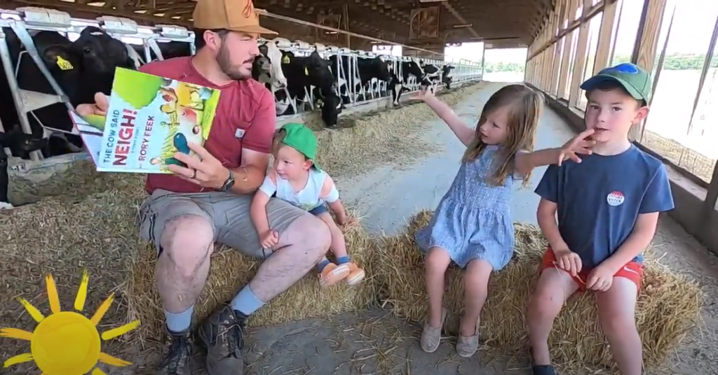 Storytime: Farmer Jeremy reads The Cow Said Neigh!