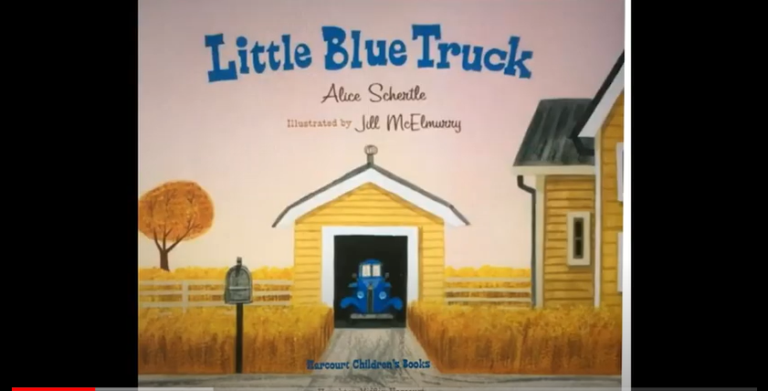 Storytime - Find a Truck Edition: Ghostbusters 716 read Little Blue Truck