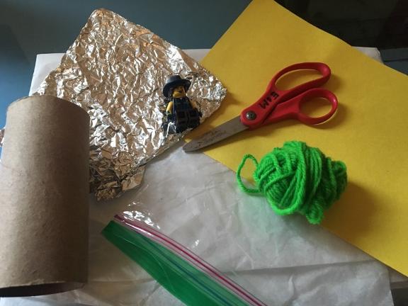 Sanity Savers: Gray's Parachute Experiment
