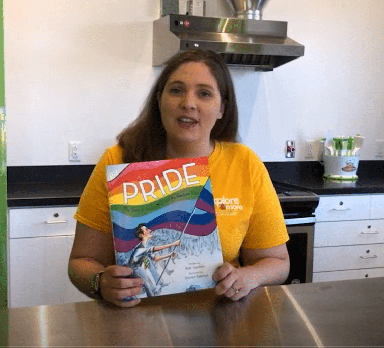 Storytime: Amelia Schrader Reads Pride: The Story of Harvey Milk and the Rainbow Flag