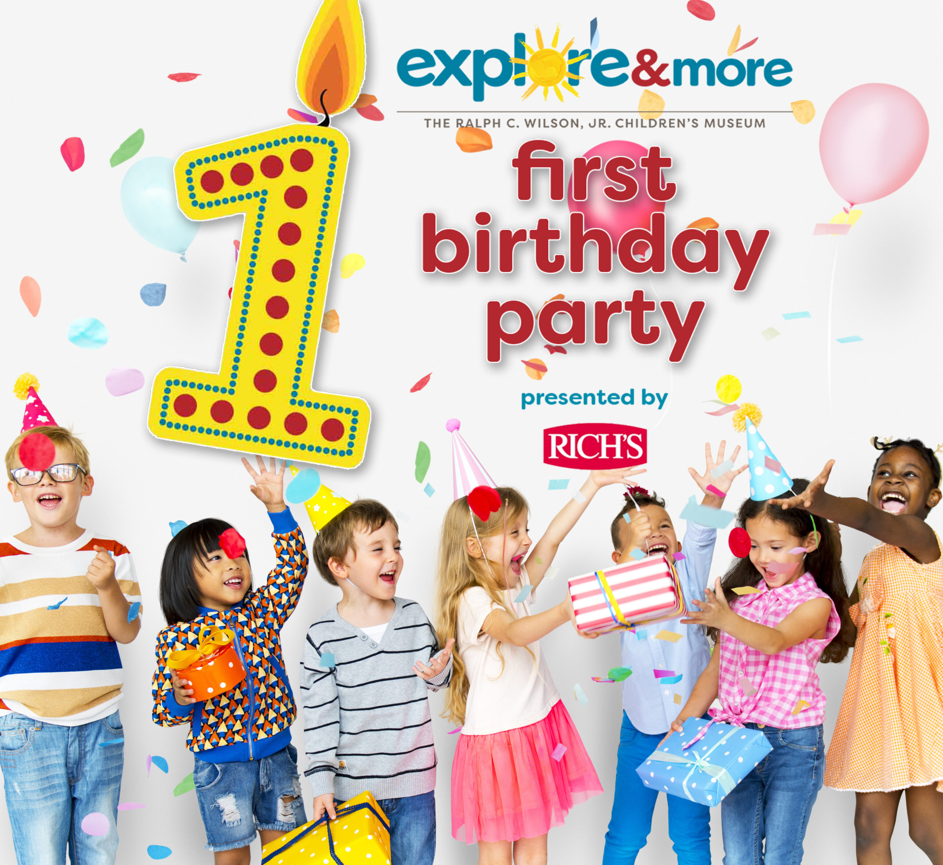Explore & More First Birthday Celebration