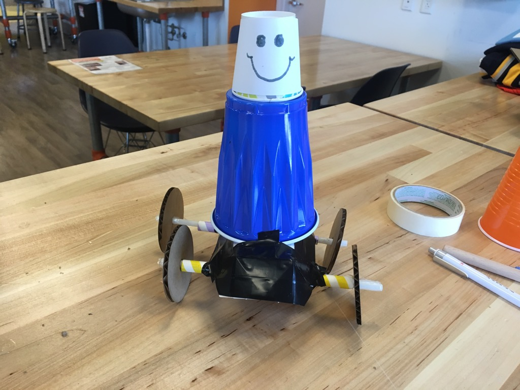 Sanity Savers: Whacky DIY Robot