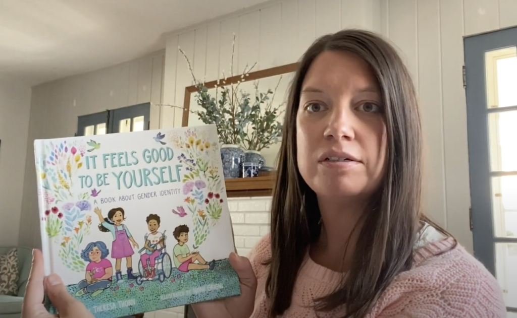Storytime, Birthday Edition: Maggie Barnett reads It Feels Good to Be Yourself