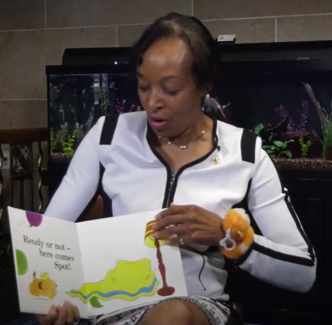 Storytime, Birthday Edition: Deputy Mayor Ellen Grant Reads Spot's Birthday Party