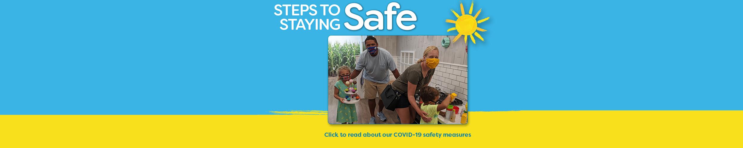 Steps to staying safe webslider
