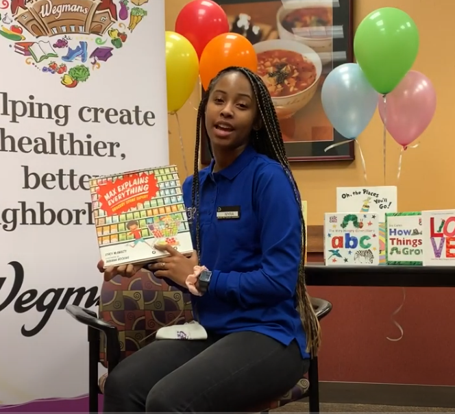 Storytime, Honk for Heroes Edition: Ta'Nyra Adams from Wegmans reads Max Explains Everything: Grocery Store Expert