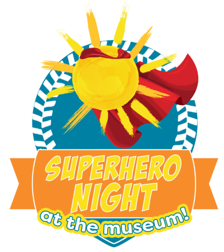 Superhero Night at the Museum Logo